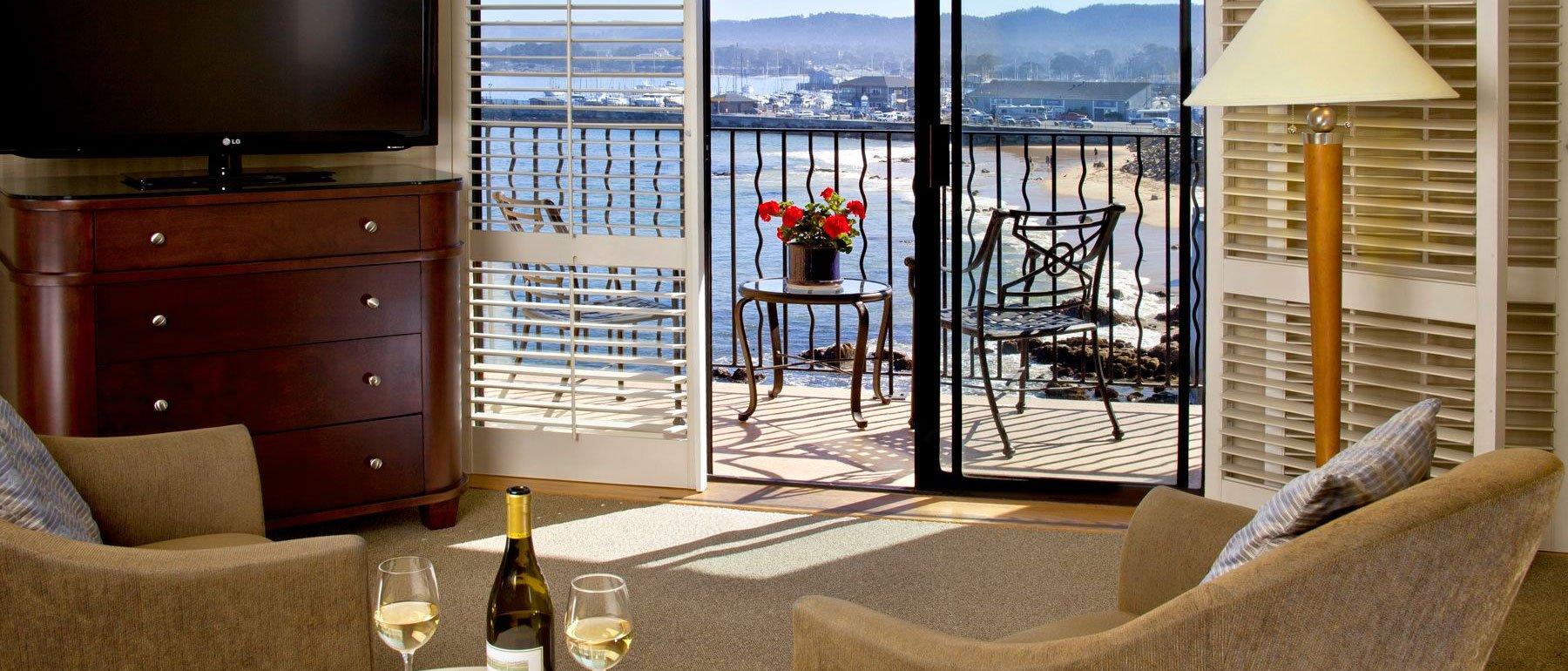 Ocean Harbor View Room at Hotel California