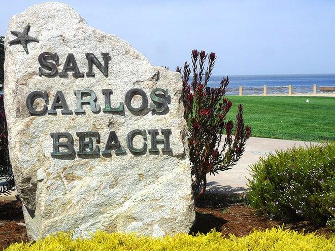 Idyllic Setting on San Carlos Beach at Hotel California