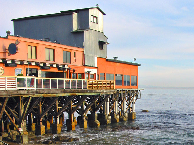 The Quiet Side of Cannery Row in California Hotel